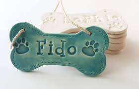 dog bone ornament christmas ornament personalized dog