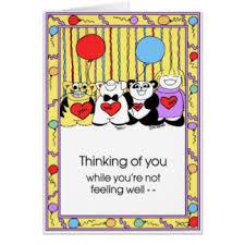 card for sick person sick person cards invitations zazzle co uk