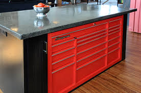 snap on tool box drawers in island stuff for my kitchen kitchen island cabinetry snap on tool box drawers in island