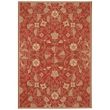 Capel Outdoor Rugs Orange Capel 4 X 6 Outdoor Rugs Rugs The Home Depot