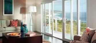 sliding glass door with blinds sliding patio door treatments kitchen door window treatments