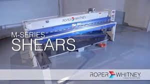 mechanical sheet metal shears by roper whitney value and performance
