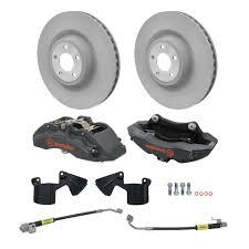 ford performance m 2300 v mustang front brake kit 6 piston brembo