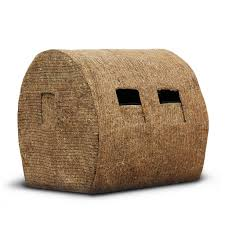 sportsman hd hay bale blind replacement cover redneck blinds