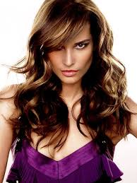 highlights for long dark hair