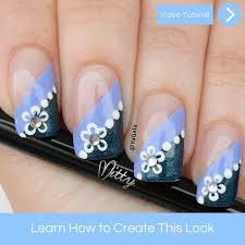 spring flower nail art u2013 mitty nail art tools u0026 brushes