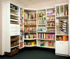 interesting walk in pantry shelving design food and dishes also
