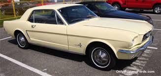 1965 yellow mustang mustang 1965 phoenician yellow cars