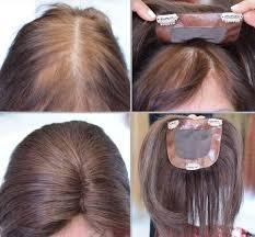 Thin Hair Pull Through Wigltes | 100 human hair pull through wiglet filler enhancer piece hair and