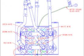 warn winch hand control wiring diagram wiring diagram