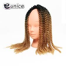 afro twist braid premium synthetic hairstyles for women over 50 16 inches ombre crochet diy braids eunice hair extensions