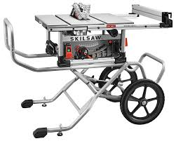 Table Saw Stand With Wheels Skilsaw Spt99 12 10