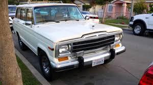 kaiser jeep wagoneer 1987 jeep wagoneer youtube