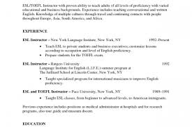 Esl Teacher Resume Example by Resume Sample Is Prohibited Without The Consent Of Best Resumes Of