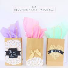 favor bag how to decorate a party favor bag best friends for frosting