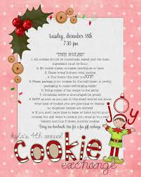 christmas cookie exchange rules christmas lights decoration