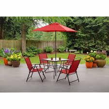 patio furniture dining set umbrella clearance outdoor pool folding