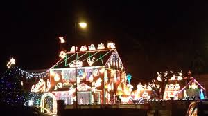 brailsford christmas lights house bristol england this