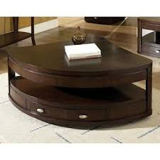 corner wedge lift top coffee table isabelle quarter round cocktail table with lifting top rounding