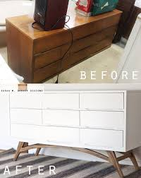 Modern Furniture Dressers by Mid Century Modern Dressers Get Custom Diy Makeovers Diy For The