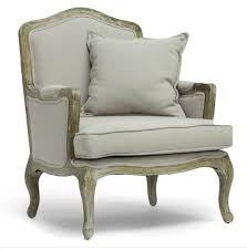 French Linen Armchair French Country Accent Chairs For All Budgets House By Hoff