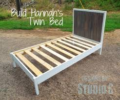 a fabulous modern twin bed u2013 designs by studio c
