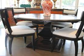 algonquin round pedestal dining table in reclaimed wood u2013 mortise