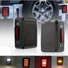 jeep jk led tail light bulb taillight series for jeep jk wrangler 07 16 jk led brake tail lights