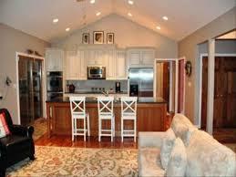 Kitchen Living Room Open Floor Plan Open Floor Plans For Kitchen Living Room Wood Floors Zeusko