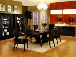 elegant dining room design with ikea rectangular dining table