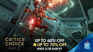 playstation plus sale black friday critics u0027 choice sale save up to 60 u2013 playstation blog