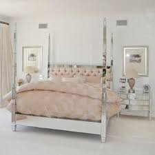 Mirror Bed Frame Prysm Mirrored Four Poster Bed Poa Ideas For The House
