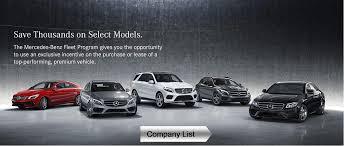 mercedes models list mercedes fleet program