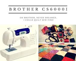 best sewing machine for beginners brother cs6000i review