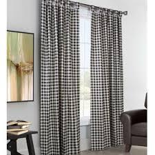 Silk Plaid Drapes Check U0026 Plaid Curtains U0026 Drapes You U0027ll Love Wayfair