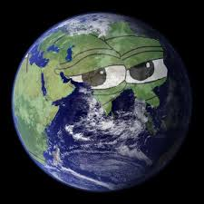 Earth Meme - pepe the frog meme on twitter how i see the earth 71 water 29