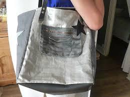sac cabas lin sac cabas xl en lin cabas en lin métalisé et lin l d s by soiz