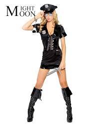 cop halloween costumes online get cheap police halloween costume women aliexpress com