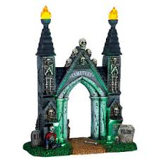 spooky town lemax spooky town collection accessory cemetery