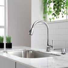high arch kitchen faucet kraus single handle stainless steel high arch kitchen faucet with