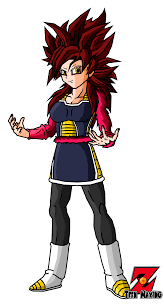 gine ssj4 saiyan armor color by teenmaxing on deviantart