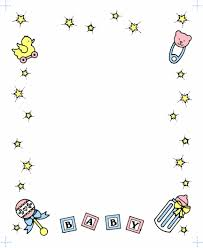 Baby Shower Clip Art Free - baby shower borders clip art bbcpersian7 collections