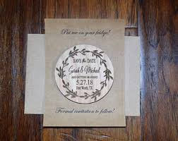custom save the dates save the date magnet etsy