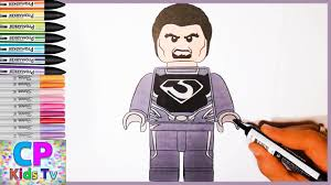 lego zod from superman coloring pages zod from superman coloring