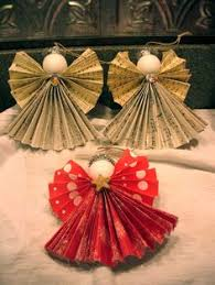 Homemade Christmas Decorations With Paper Diy Paper Christmas Ornaments Paper Christmas Ornaments Diy