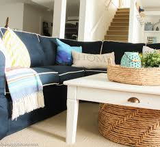 Pb Comfort Sofa Ideas Chic Pottery Barn Slipcovers For Better Sofa And Chair Look