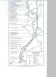 Virginia Creeper Trail Map by Photos Of Hiking Trail Maps Appalachian Trail Map Click For