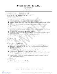 Sample Dentist Resume by Dental Resumes Resume For Your Job Application