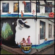 3d mural im4u 3d mural for miri handicraft center art misfits