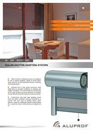 Good Decorative Elements Brochure Roller Shutter Adapting Systems Aluprof S A Pdf